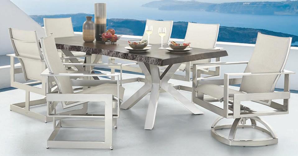 Outdoor Furniture Set Dining Sets, Castelle Patio Furniture